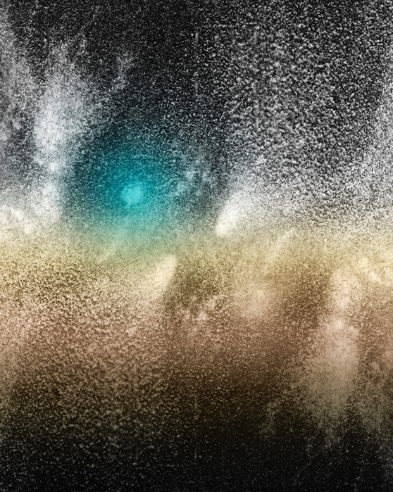 Dust landscape #11